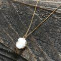 Quartz Druzy Pendant Necklace